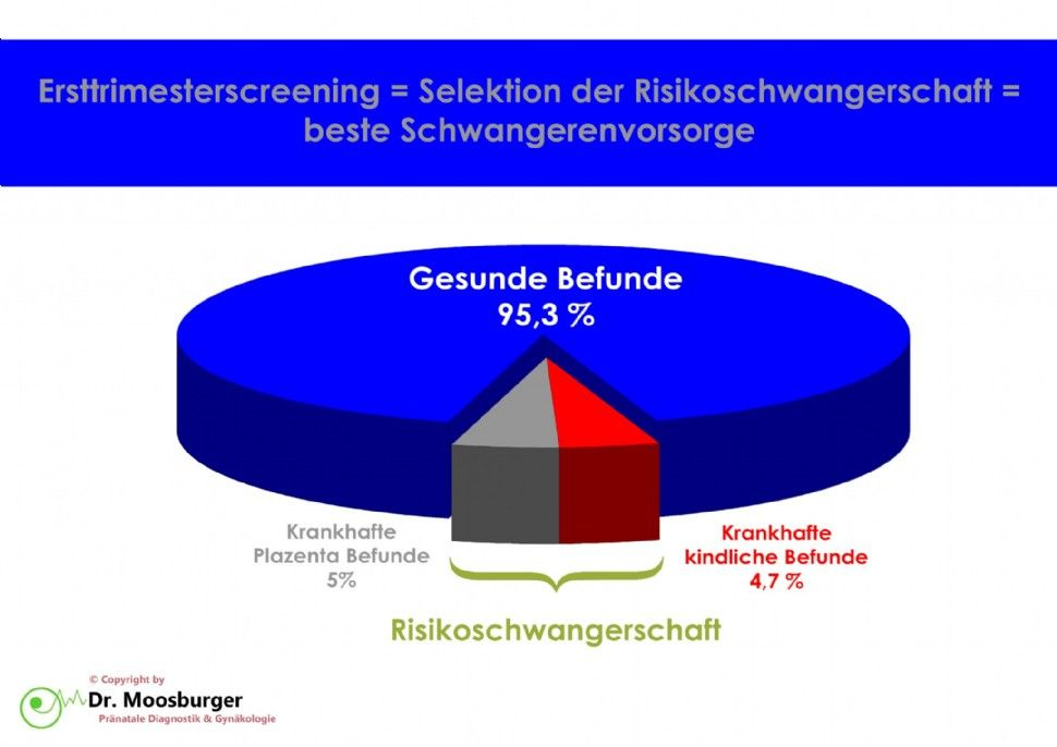 Ersttrimester Screening Grafik